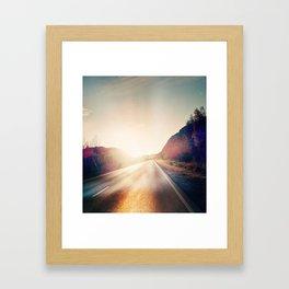 Bye now Framed Art Print