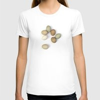 eggs T-shirts featuring Eggs by Wild Poetry