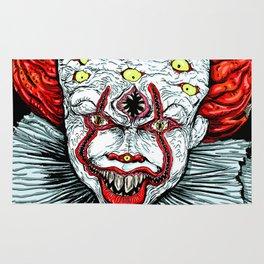 Scary Clown Rug