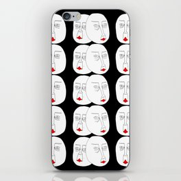 Faces in the Void iPhone Skin