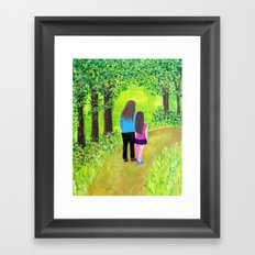 Along the Way Framed Art Print