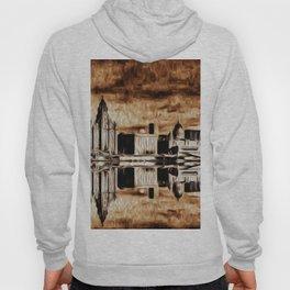 Liverpool Water front Skyline (Digital Art) Hoody