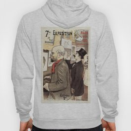 December 1894 7th Salon des 100 Art Expo Paris France Hoody