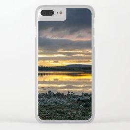 Strangford Sunrise Clear iPhone Case