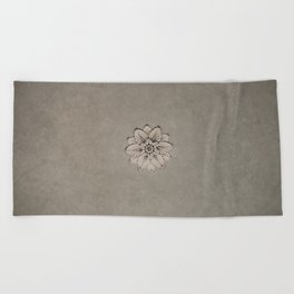 Flowers of Florence Beach Towel