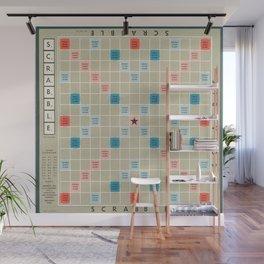 Scrabble Wall Mural