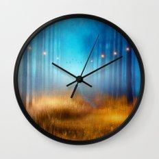Blue melody.. Wall Clock