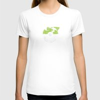 pokeball T-shirts featuring POKEBALL Lime by Black Kraken Designs