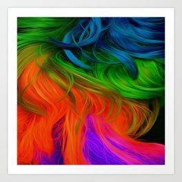 Bright Mane Art Print