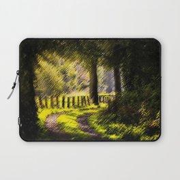 'Long Road Back Home' Landscape by Jeanpaul Ferro Laptop Sleeve