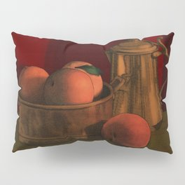 Still life with peaches Pillow Sham