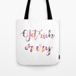Get rich or cry Tote Bag