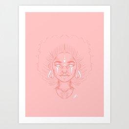 trigirl Art Print