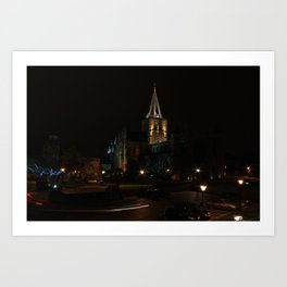 Rochester Cathedral  Art Print