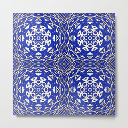 ornament illusion volume Metal Print