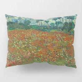 Vincent van Gogh - Poppy Field (1890) Pillow Sham