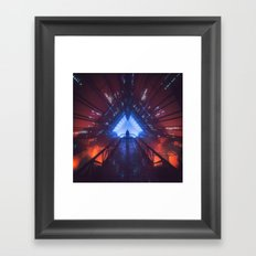 HYPERLIGHT78 (everyday 05.13.17) Framed Art Print