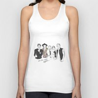 one direction Tank Tops featuring One Direction by Stephanie Recking