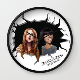 Karin & Sara Wall Clock