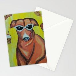 Dreamy dog Stationery Cards