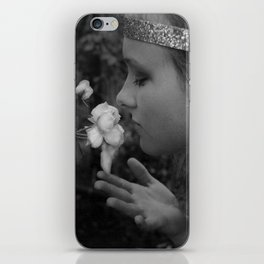 Stop to Smell the Roses iPhone Skin