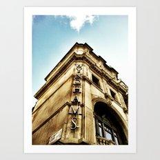 London by iPhone- wyndhams theatre Art Print