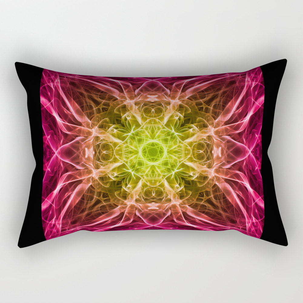 Great Ball Of Fire Rectangular Pillow RPW885662