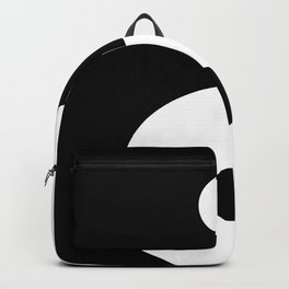 Yin And Yang Sides Backpack