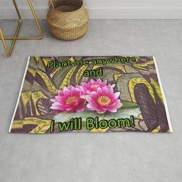 Blooming Lotus Rug