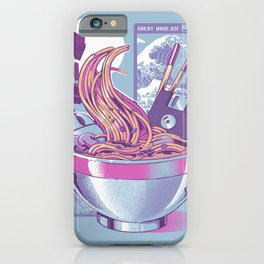 Web Ramen iPhone Case