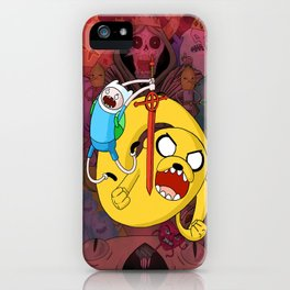 What Time Is It?! iPhone Case