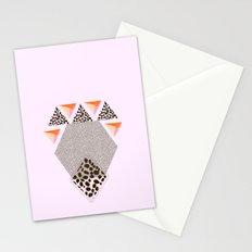 LEOPARD DIAMOND Stationery Cards
