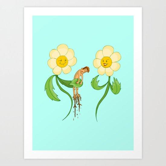 Planting Revenge Art Print