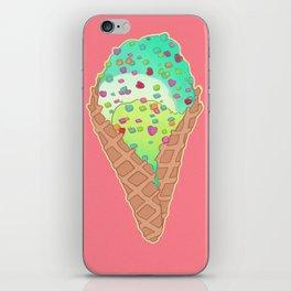 Neon Cones iPhone Skin