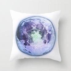 Pastel Moon Throw Pillow