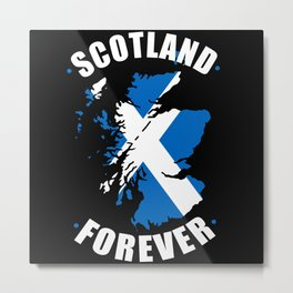 Scotland Forever Metal Print