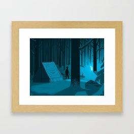 The Silver Doe Framed Art Print