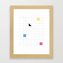 Paradigm in Primary Framed Art Print