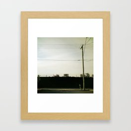 Under Construction Framed Art Print