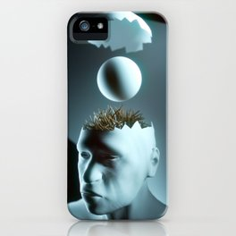 ITCHY BRAIN iPhone Case