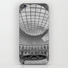 The Corn Exchange Interior In Monochrome iPhone & iPod Skin