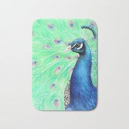 Mr. Peacock Bath Mat