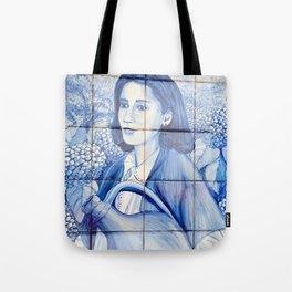 Azulejo mural Tote Bag