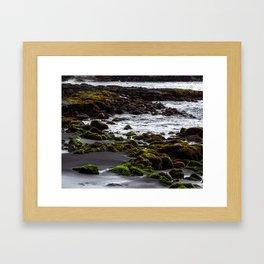 Punaluʻu Beach Framed Art Print