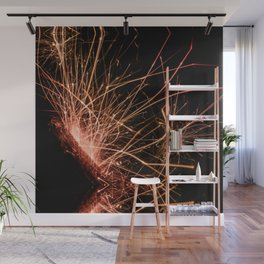 sparks Wall Mural