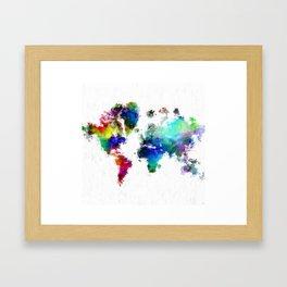 Painted World Framed Art Print