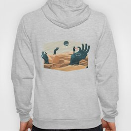 The wanderer and the desert portals Hoody
