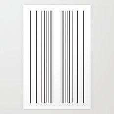 Void Line Art Print