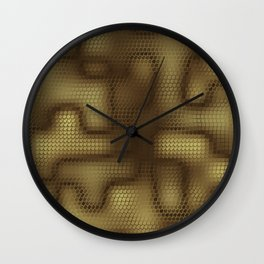 Rattlesnakes Love Geometry Wall Clock
