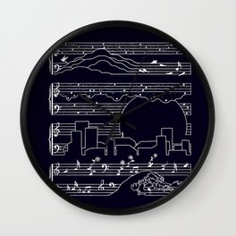 The Moonlight Sonata Wall Clock